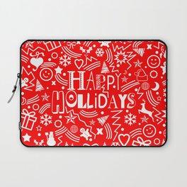 Happy Holidays Laptop Sleeve
