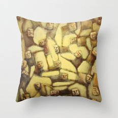 Holding Us Together Throw Pillow