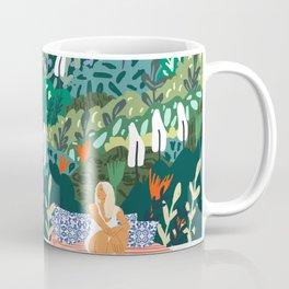 Chilling || #illustration #painting Coffee Mug