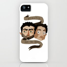 The Beauty and the Beast [Sterek] iPhone Case