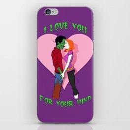 Zombie Love iPhone Skin