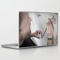 danny haas Laptop & iPad Skins featuring Danny Doom, Meerane 2011 by Jan Brennenstuhl