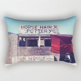 Horse Hair Pottery Rectangular Pillow