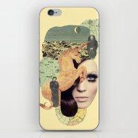 aquarius iPhone & iPod Skins featuring Aquarius by Francisca Pageo