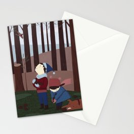 In the forest 2 Stationery Cards
