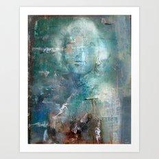 Destructuration # 1 Art Print