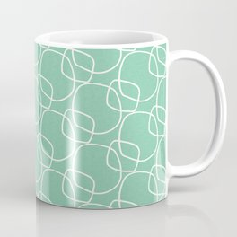 Bubble Pattern Mint #homedecor Coffee Mug