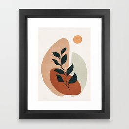 Soft Shapes II Framed Art Print