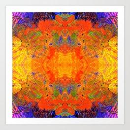 Color Bloom Art Print