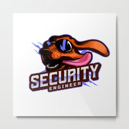 Security Engineer Metal Print