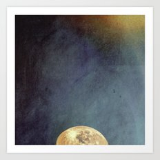Sun And Moon Art Print