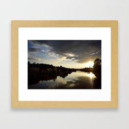 Fiume Arno Framed Art Print