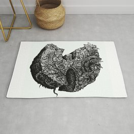 Wu-Tang Ain't Nuthin to F' Wit - B&W Rug