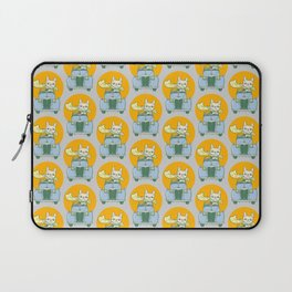 Frenchie's summer road trip Laptop Sleeve