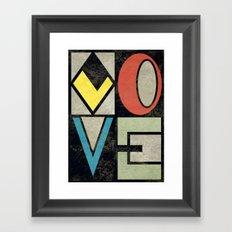 LOVE II Framed Art Print