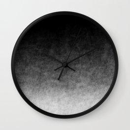 B&W Cloud Atmosphere Wall Clock