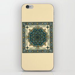Stained Glass Mandala 2 iPhone Skin