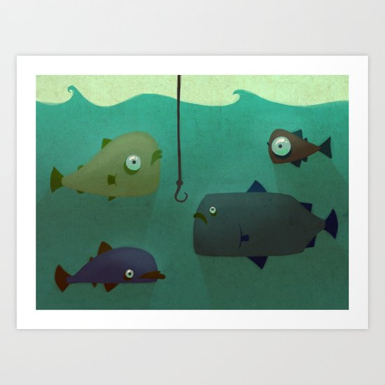 Various Fish Art Print