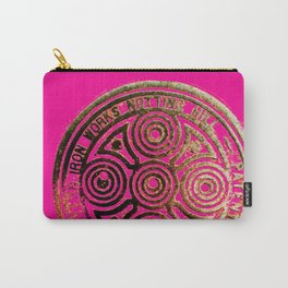 notting hill: hot pink & bronze  Carry-All Pouch