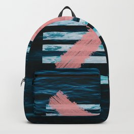 x marks the ocean Backpack