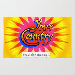 Your Country: Read the Manual Rug