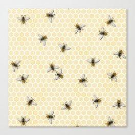 Honey a Bee Farm! Canvas Print