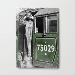 The Green Knight Driver Metal Print