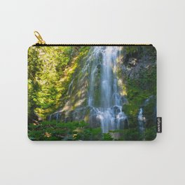 Proxy Falls 4 - Waterfall In Oregon Carry-All Pouch