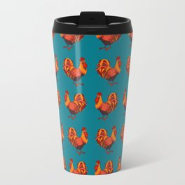 Rooster happy new year Travel Mug