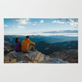 A Day In The Mountains Rug