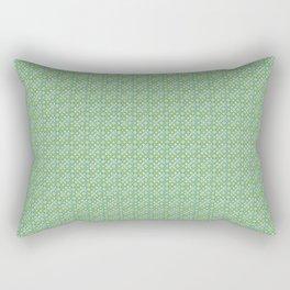 bulles vertes Rectangular Pillow