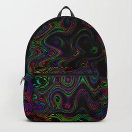 Oil Spill Ripples Backpack