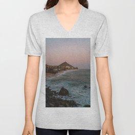 Cabo Sunset Unisex V-Neck