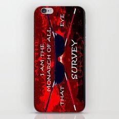 BEWARE ARED - 054 iPhone & iPod Skin