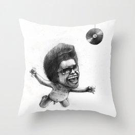 James Brown x Nirvana Throw Pillow
