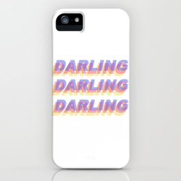 darling darling darling iPhone Case