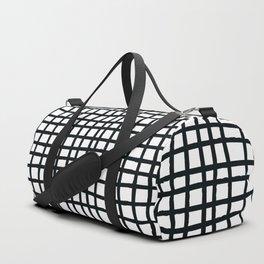 Black Netting Duffle Bag