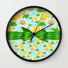 Just Daisies Wall Clock