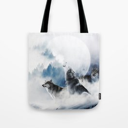 Ware Wolves #society6 #decor #buyart Tote Bag
