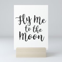 Fly Me To The Moon Mini Art Print