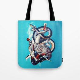 Heart of Illuminati Tote Bag