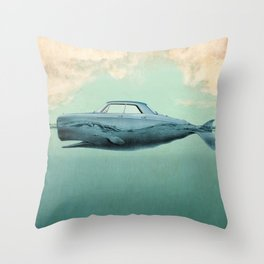the Buick of the sea 02 Throw Pillow