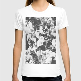 Cats Forever B&W T-shirt
