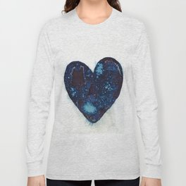 I left my heart by the ocean. Long Sleeve T-shirt