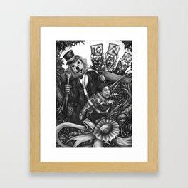 Circus Woof Framed Art Print
