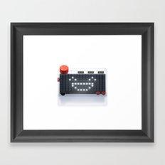Kano Pixel Kit Framed Art Print