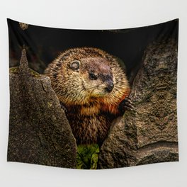 Groundhog Day Wall Tapestry