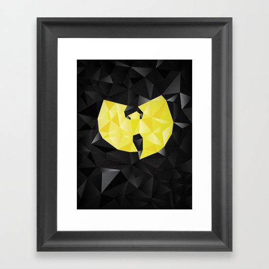Wu-Tangle Framed Art Print