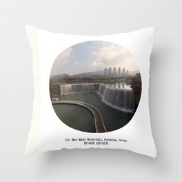 011: Kunming, China Throw Pillow
