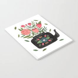 Floral Kettle Notebook